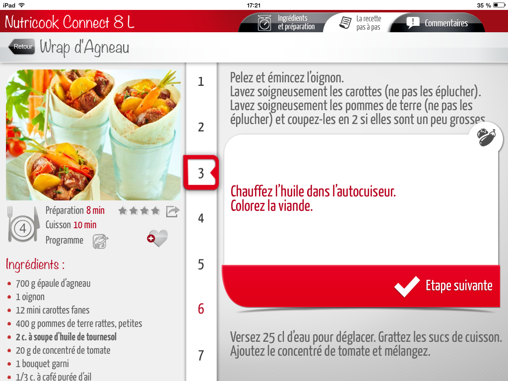 Seb nutricook - Temps de cuisson tartiflette ...